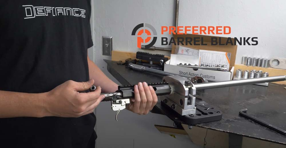 how to install a fixed shoulder prefit barrel